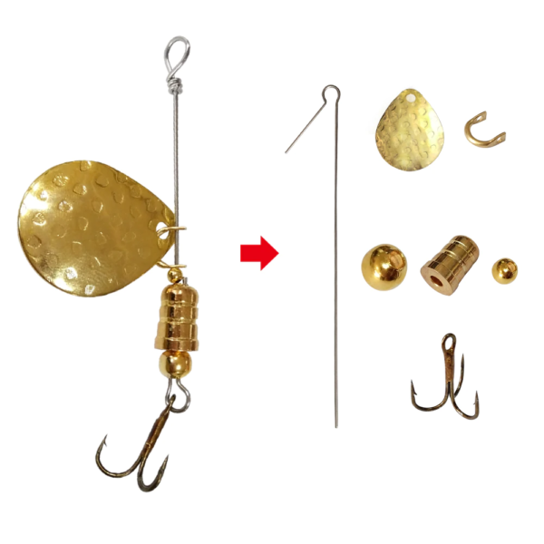 DIY Spinning Lure 4 - GrejMarkedet