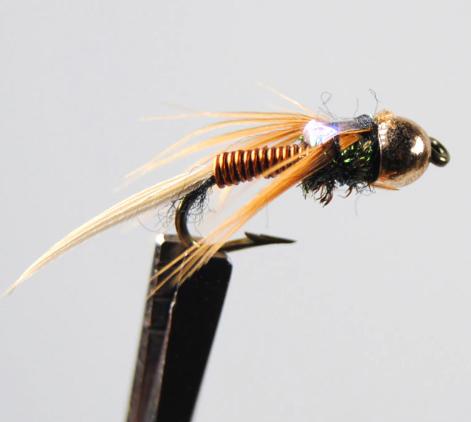 Copper John Nymph Fly #12 - GrejMarkedet