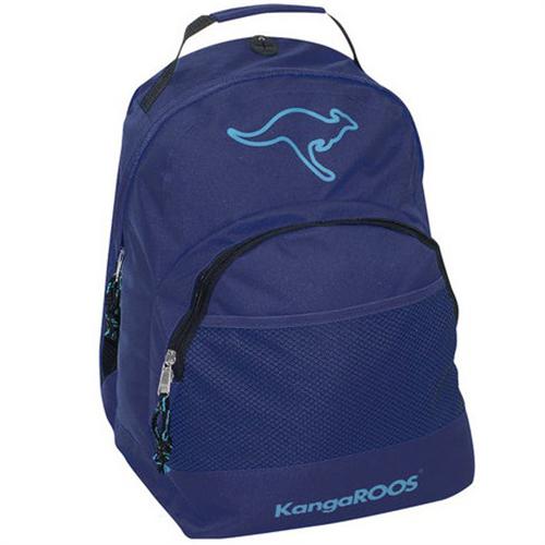KangaROOS Smart Backpack Dark Blue - GrejMarkedet