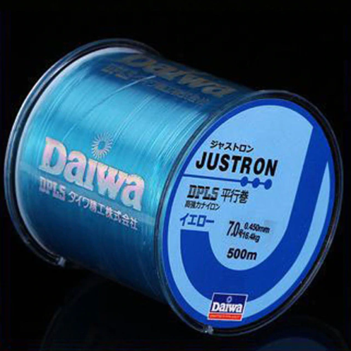 Daiwa Justron 500m Blue - GrejMarkedet