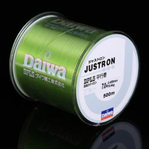 Daiwa Justron 500m Green - GrejMarkedet