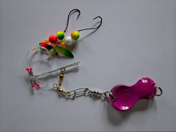 Dit Fladfiskeforfang - Fluoro Perler og Ske