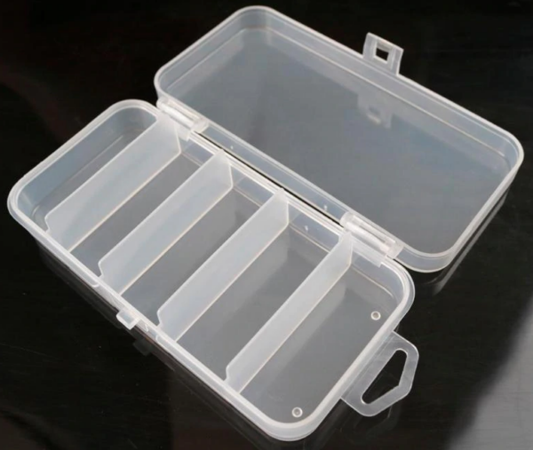 Tackle Box 5 Compartments - GrejMarkedet