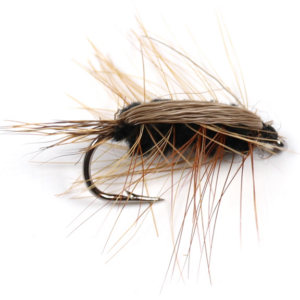 Brown Woolly Worm Nymph - GrejMarkedet
