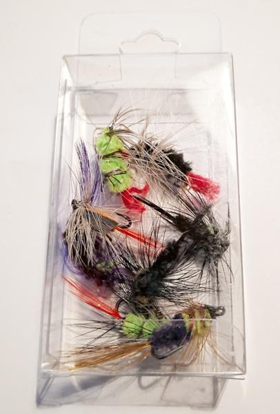 8 Put and Take Flies Box - GrejMarkedet