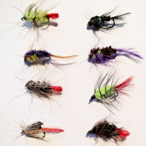 8 Put and Take Flies Front - GrejMarkedet