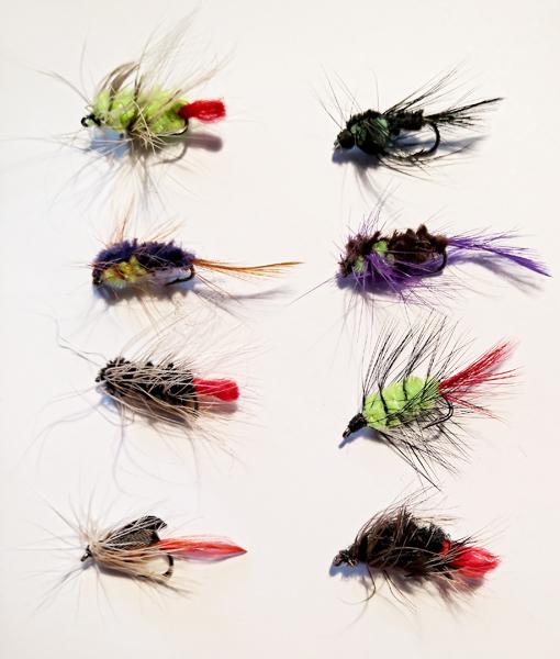 8 Put and Take Flies Front - GrejMarkedet