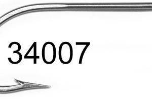 Mustad 34007 Stainless Steel Saltwater Hook GrejMarkedet