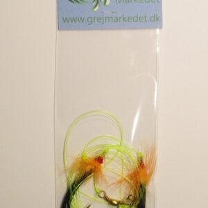 Cod Rig with 2 Flies Size 2-0 GrejMarkedet