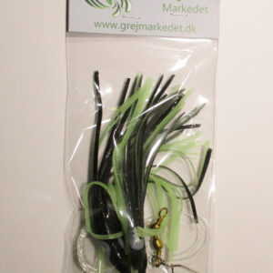 Cod Rig with 3 Octopus Black Green Fluoro GrejMarkedet