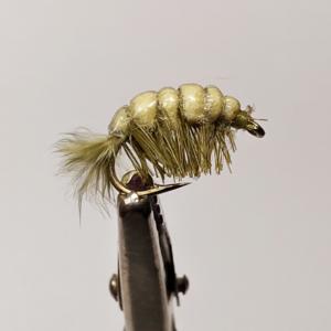 Olive Shrimp Nymph #12 GrejMarkedet