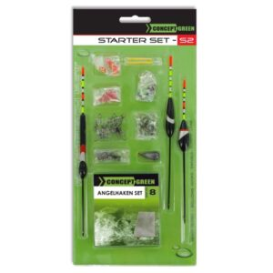 Jenzi Coarse Fish Set Green Concept 8815 001 GrejMarkedet
